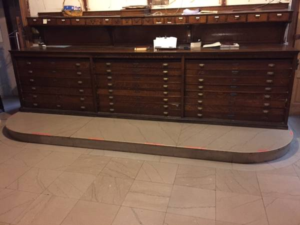 church  vestment cabinet