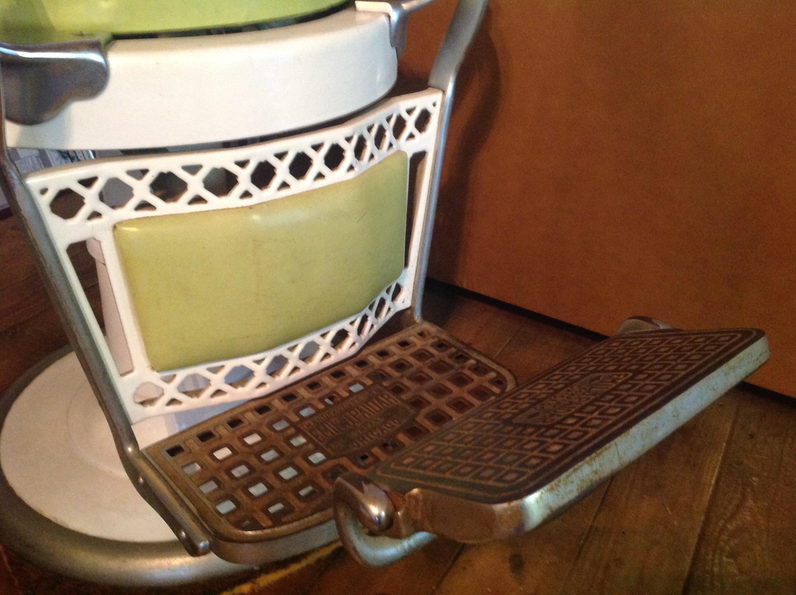 Antique Paidar Porcelain Barber Shop Chair Obnoxious Antiques