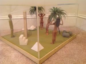 diorama surrealism assemeblage by artist J Grimmins 1
