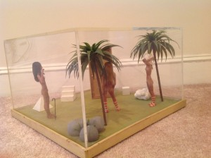 diorama surrealism assemeblage by artist J Grimmins 3