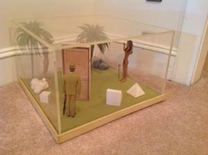 diorama surrealism assemeblage by artist J Grimmins