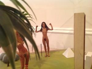 diorama surrealism assemeblage by artist J Grimmins 8