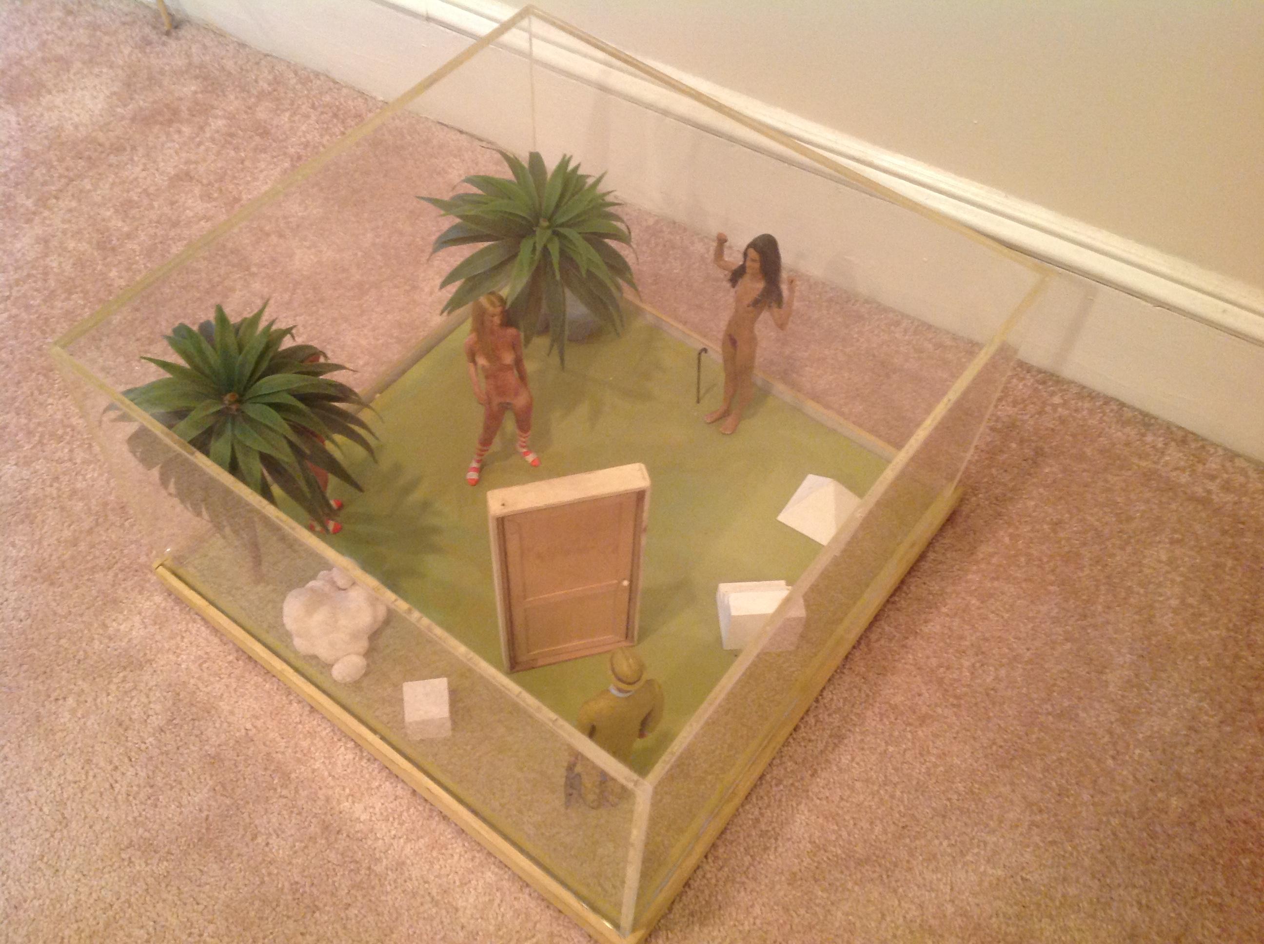 diorama surrealism assemeblage by artist J Grimmins13