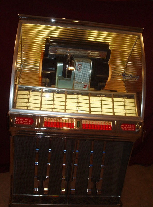 1954 Seeburg Hr100f Selectomatic Jukebox 171 Obnoxious Antiques