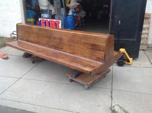 bench Newark Penn Station 10