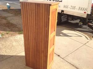 cabinet multi oak tall  1