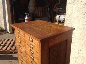 cabinet multi oak tall  5