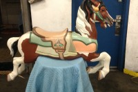 carousel horse palmino 5