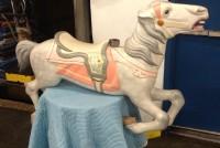 carousel horse white 2
