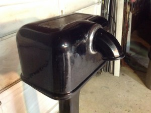 hand dryer black sani dri 3