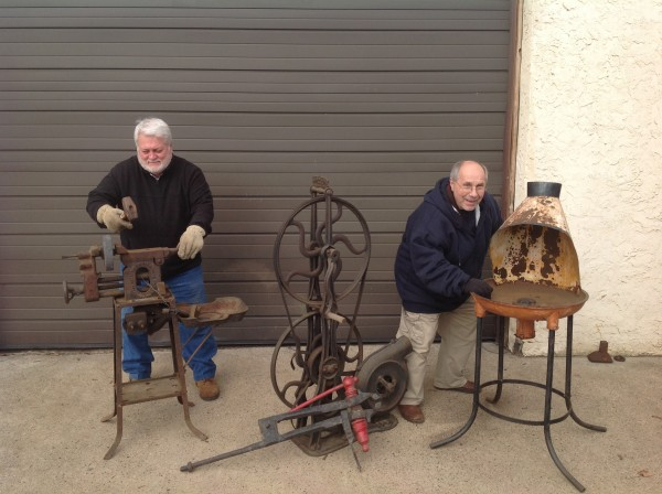 Antique Early 1900 S Blacksmith Forge Equipment