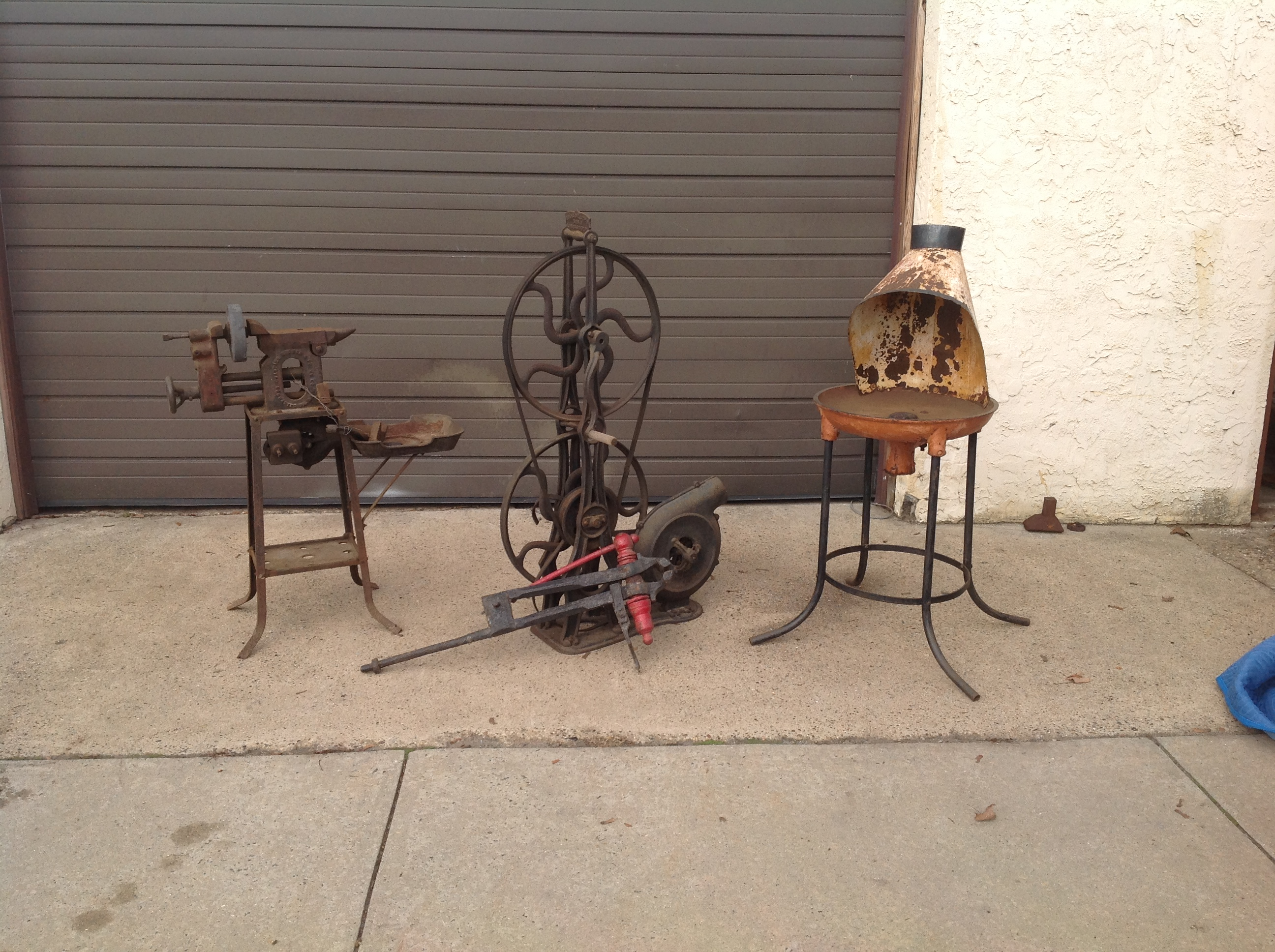 blacksmith forge Vintage