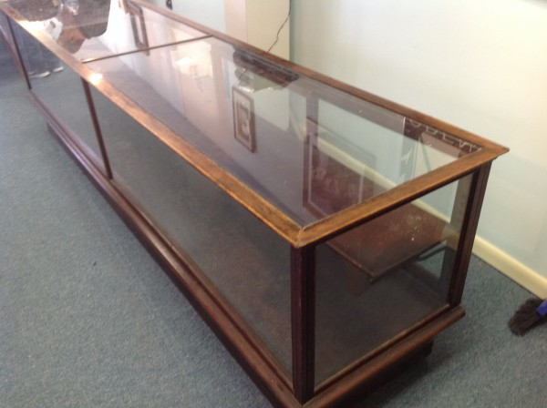 Huge Antique Country Store Display Case 171 Obnoxious Antiques