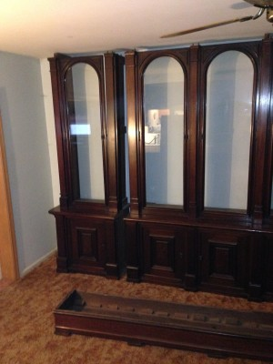 antique store display case huge 10