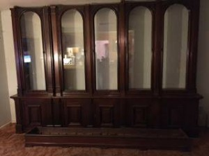 antique store display case huge 11