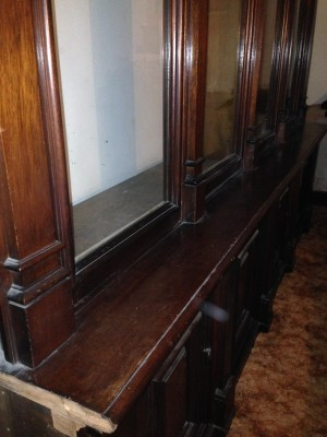 antique store display case huge 8