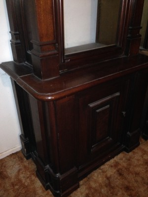 antique store display case huge 9