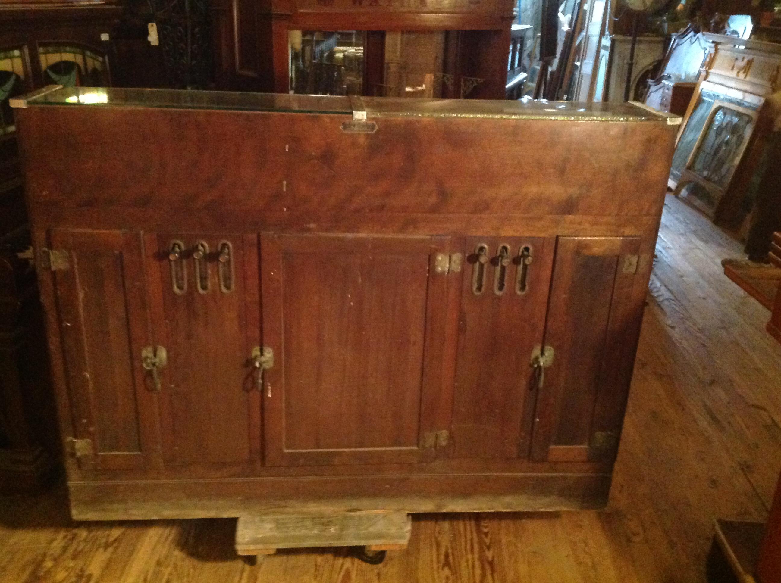 Antique Mechanical Cigar Store Display Case 171 Obnoxious