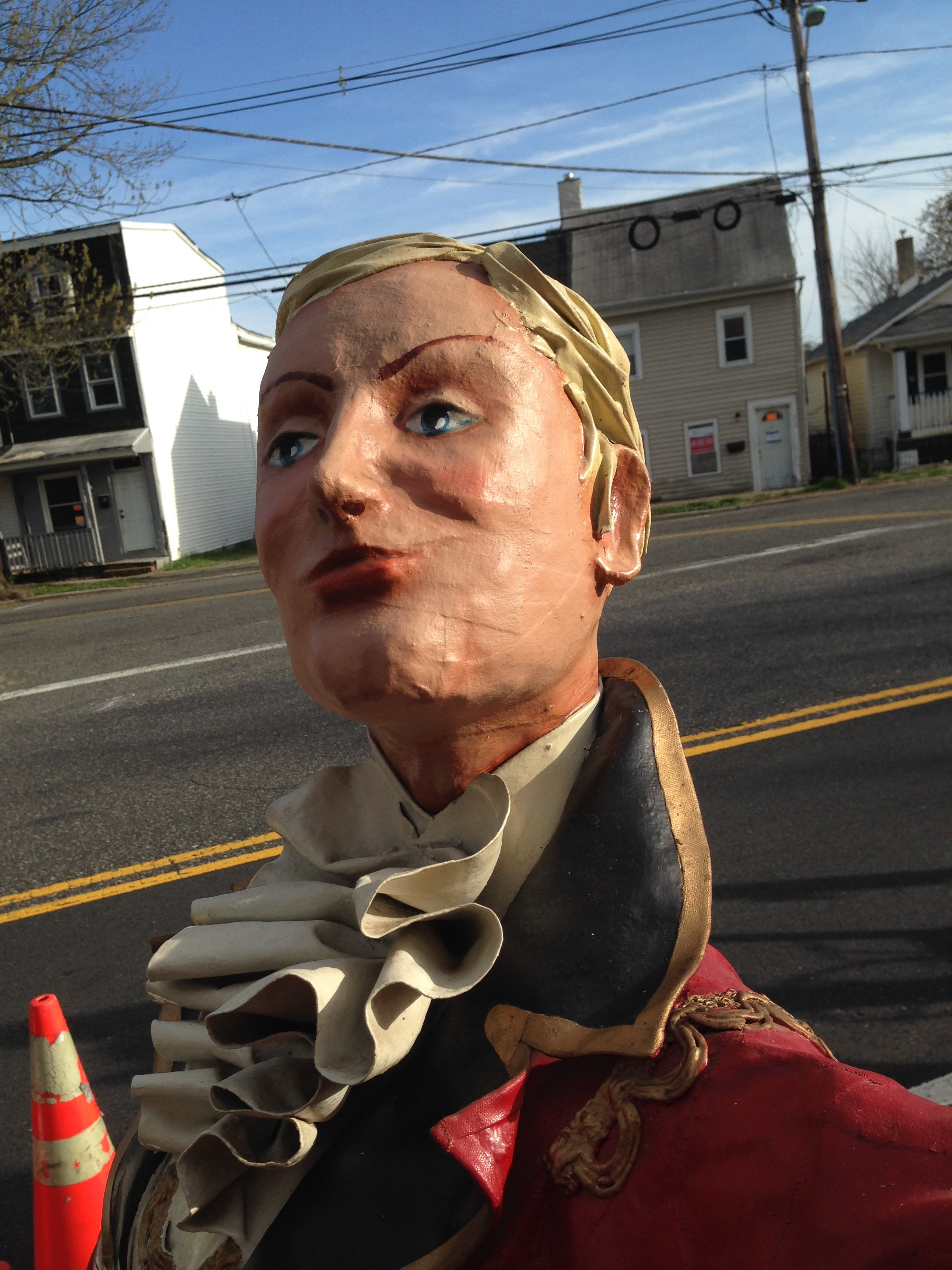 What Kind Of Oil >> Vintage Danbury Fair Ring Master Statue from The P.T ...