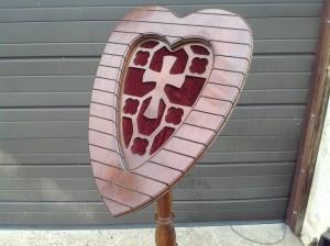 funeral palor wooden card holder 5JPG