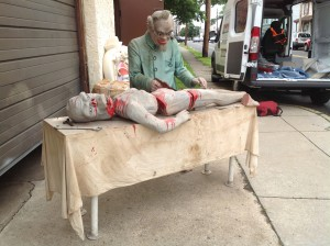 haunted house animated prop mad scincetist 15JPG