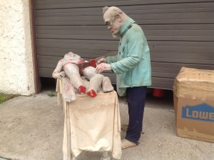 haunted house animated prop mad scincetist 9