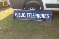 phones sign public