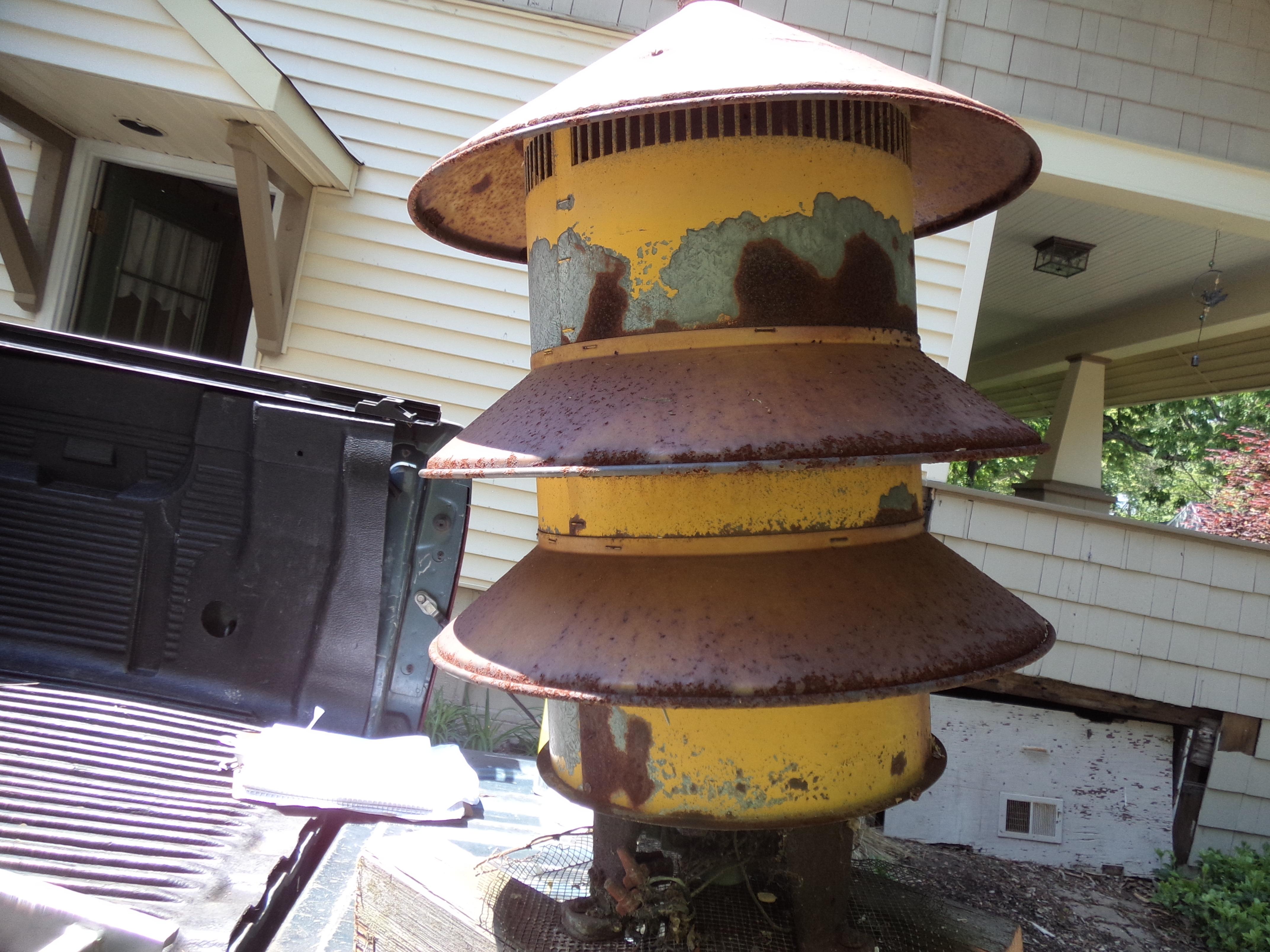 Civil Defense Siren >> Vintage Mid-Century Civil Defense Air Raid Fire Siren « Obnoxious Antiques