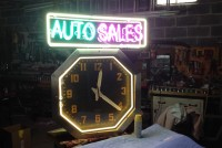 neon auto clock 7