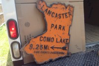 sign cast iron ny lake 1