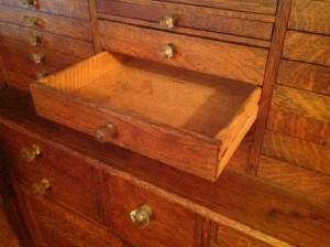 dental cabinet oak 4