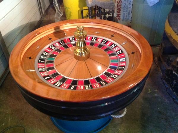 Online roulette wheel custom