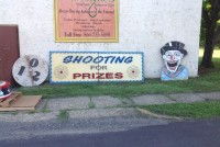 shooting gallery sign nc