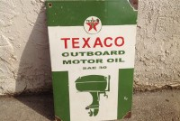 sign porcelain texaco outboard  2