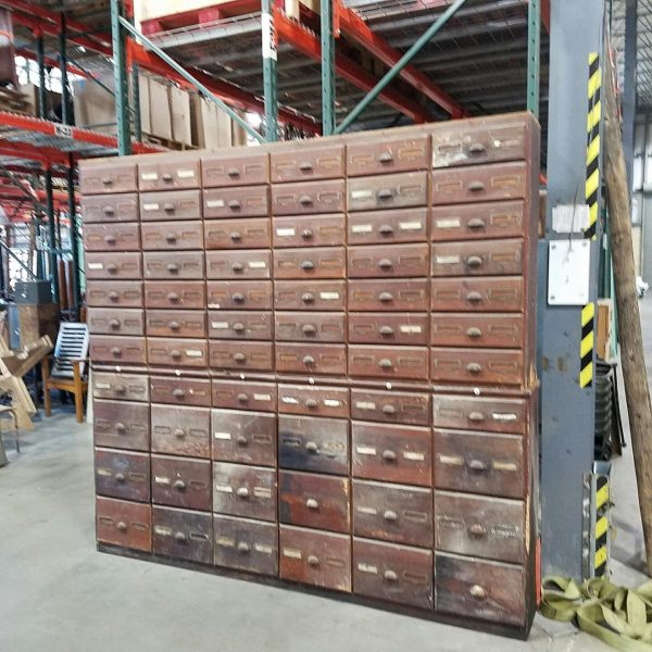 Antique Hardware Store Multi Drawer Cabinet 171 Obnoxious