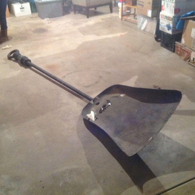 Fireplace Ash Shovel Part - 44: Shovel-giant-movie-prop-4