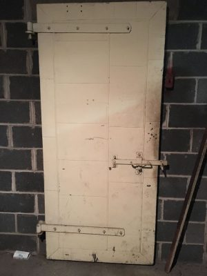 church 2017 steel door