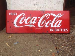 coke sign 5foot long 1