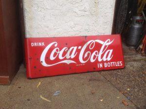 coke sign 5foot long 2
