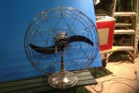 fan small mid century