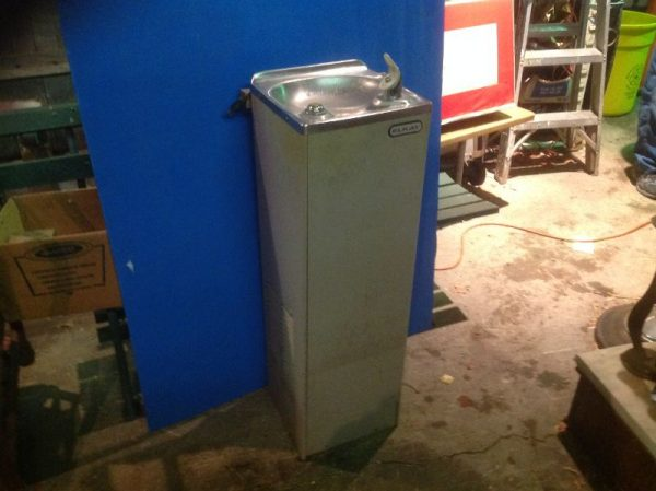 Vintage School Water Fountain Cooler 171 Obnoxious Antiques