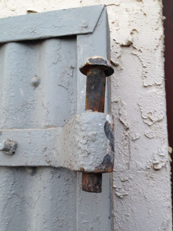 Vintage Industrial Fire Doors : Vintage industrial evans fire doors « obnoxious antiques
