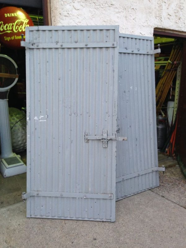 Vintage Industrial Doors : Vintage industrial evans fire doors « obnoxious antiques