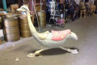 carousel animal ostrich 1