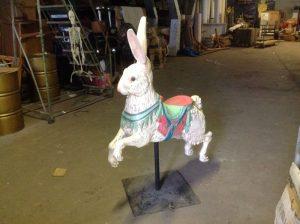 carousel animal rabbit 1