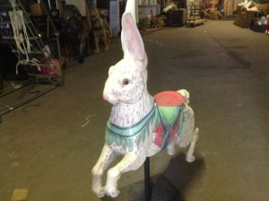carousel animal rabbit 2