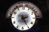 neon clock insurance