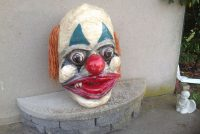 clown head paper mache 4