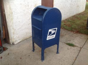 Vintage Post Office Street Corner Mailbox 171 Obnoxious Antiques
