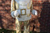 santa life size gold